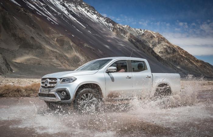 Компания Mercedes показала новый концепт суперуниверсального пикапа