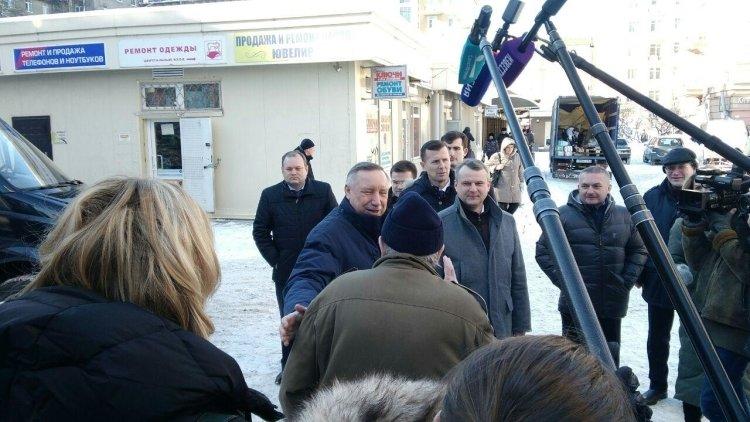 Беглов выступил за увеличение спортивных площадок в Петербурге