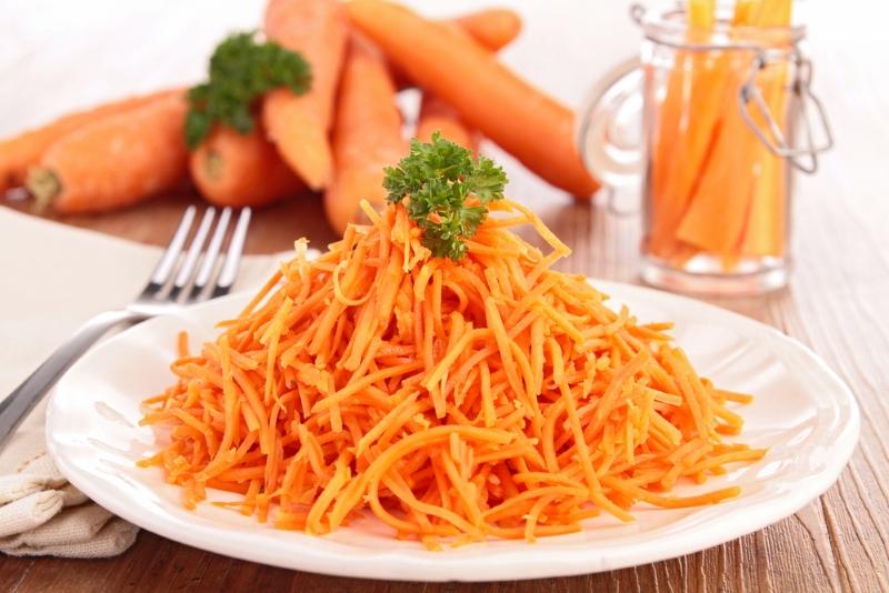 салат из морковки без майонеза