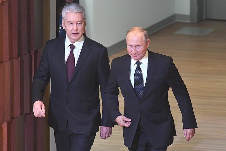 Путин попросил Собянина работать еще лучше