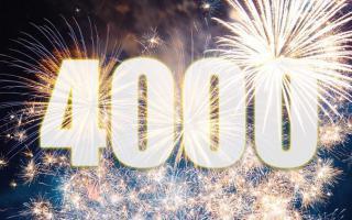 Нас 4000!