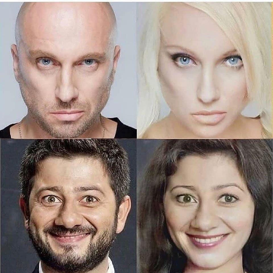 Как бы  выглядели актеры, если бы были женщинами?