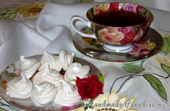 Секреты приготовления белоснежного безе