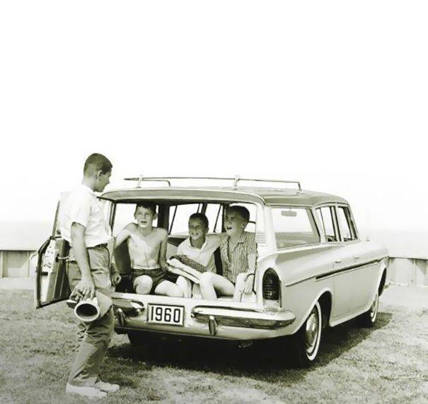 18. 60-е годы, автомобили, легковой автомобиль, старые машины, старые фото, сша, универсал, фургон