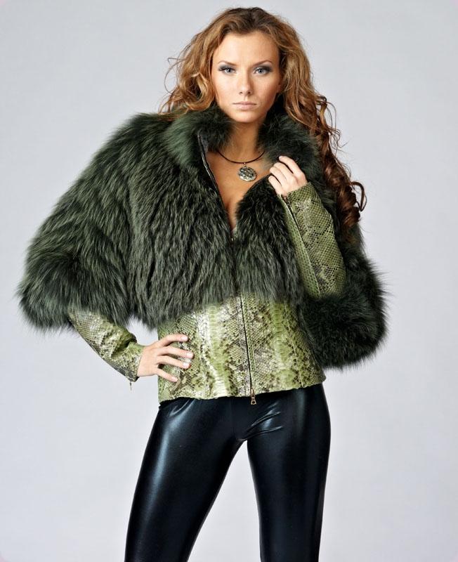 Куртка с мехом своими руками