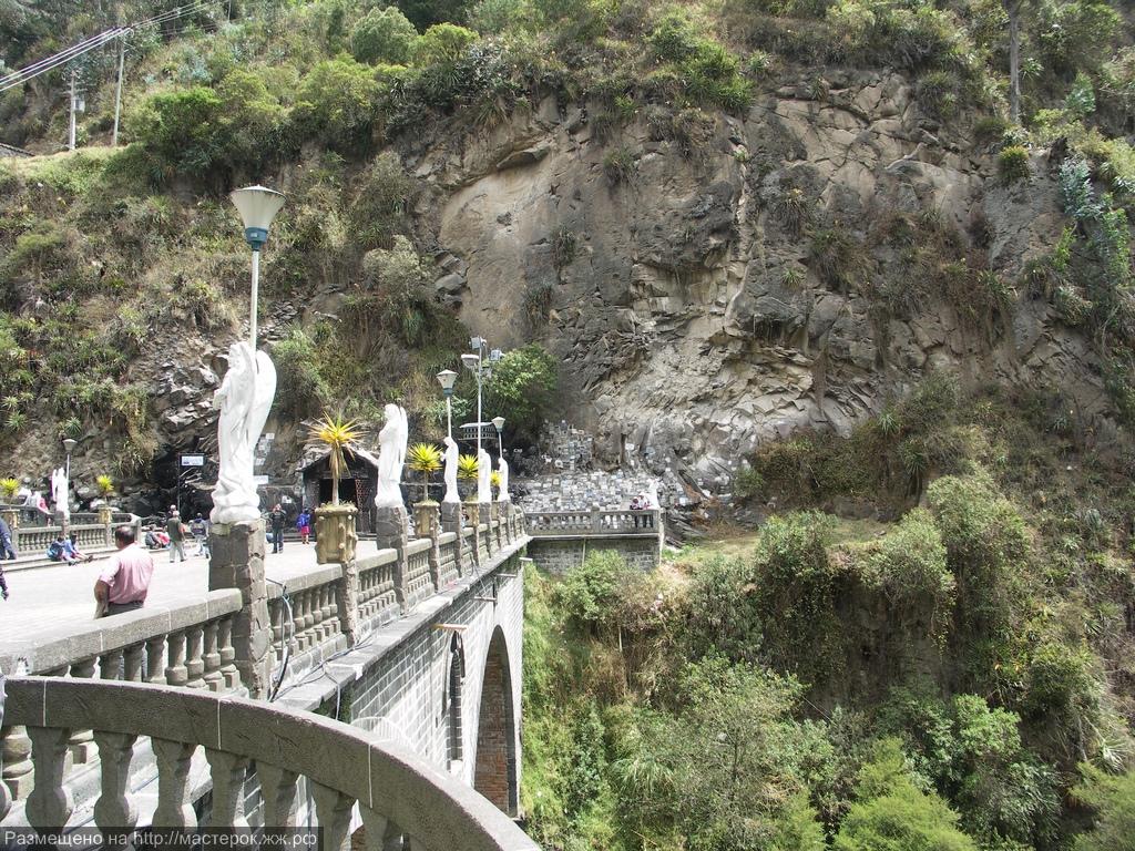 Уникальный собор-мост в Колумбии. Красивейшее сооружение на высоте 2500 метров