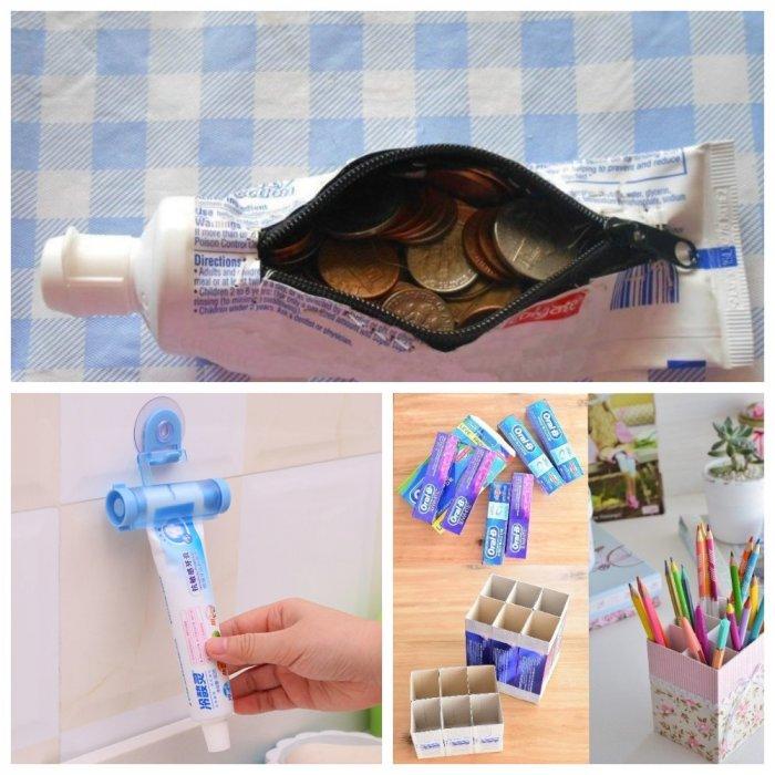 Гении упаковок от зубной пасты