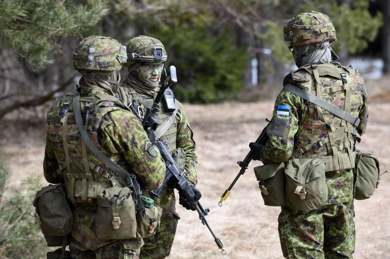 В Эстонии пройдет крупнейшее за всю историю военное учение