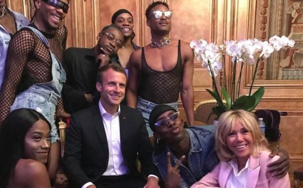 Президент Макрон находит новых друзей