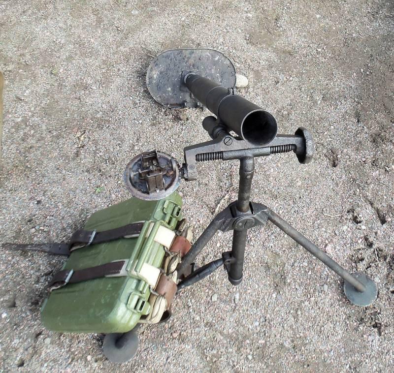 50-мм ротный миномёт «Оса»