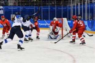 Российские хоккеистки проиграли команде Финляндии со счетом 1:5
