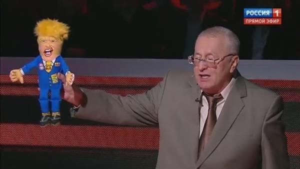 Жириновский пообещал поставить в офисе ЛДПР свою куклу для выплеска гнева