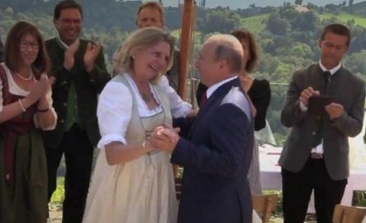 Глава МИД Австрии: Присутствие Путина на моей свадьбе расстроило только Украину