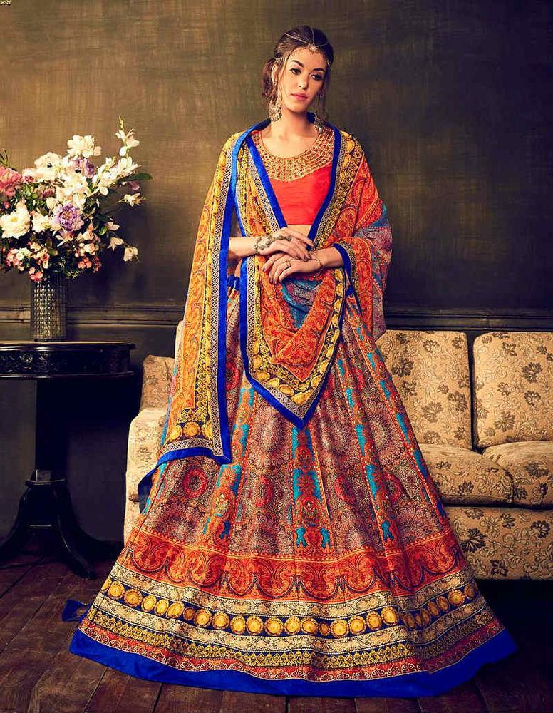 Красивые платья в индийском стиле — достойные богинь, фото № 19