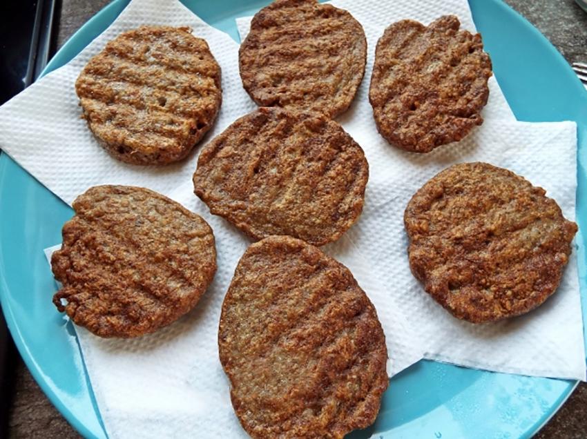 Питательные гречаники с печенью