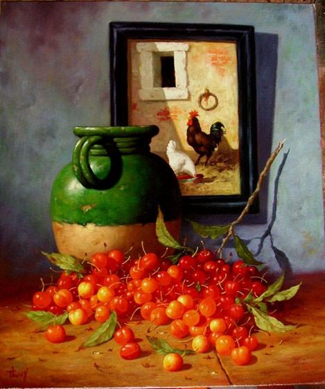 Сладчайшие плоды... Французский художник Marc Thouy