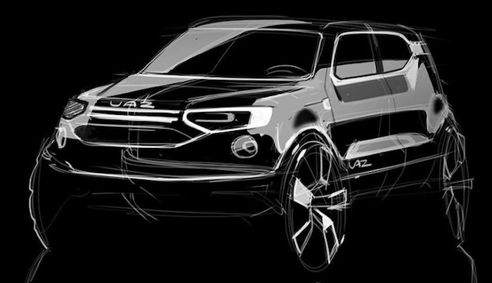 Новый кроссовер «УАЗ 3170» станет конкурентом Kia Sportage и Nissan Qashqai