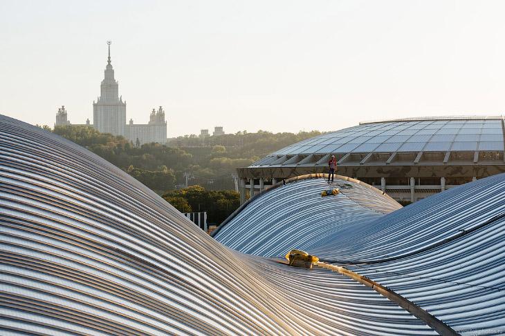 Новые Лужники и новый вид на Москву