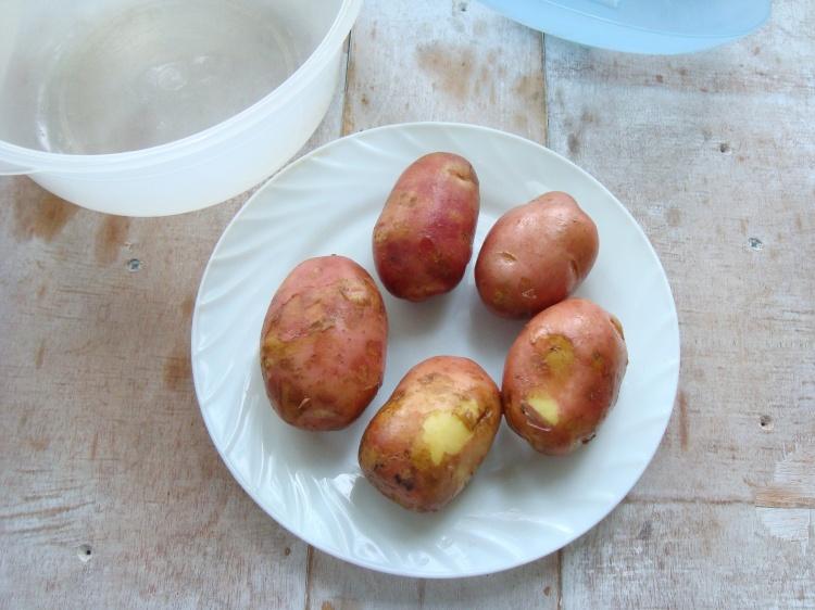 Молодой картофель по-быстрому