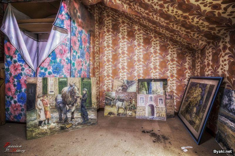 Дом, который наполнен произведениями искусств