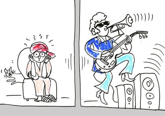 Музыкальные соседи