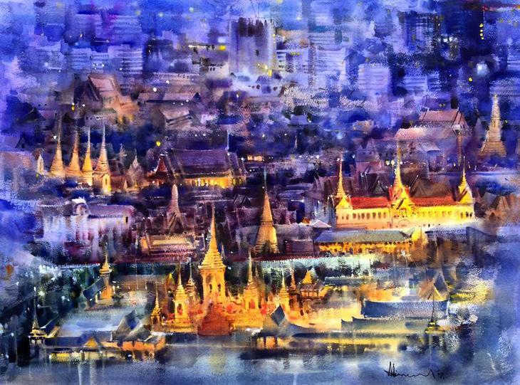 Adisorn Pornsirikarn - художник-акварелист из Таиланда