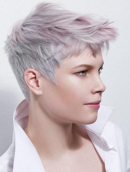 Модные оттенки и техники окрашивания на короткие волосы 2018-19