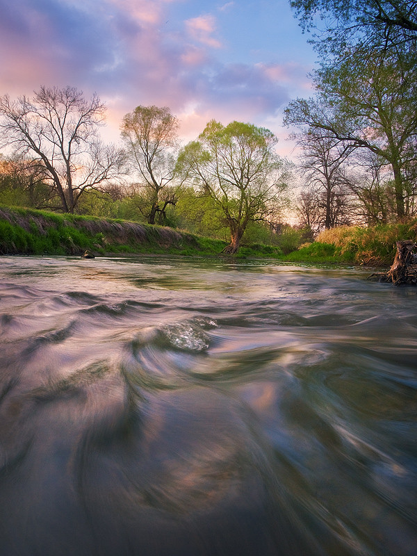 Фотография Springtime at River Odra автор Jan Bainar на 500px