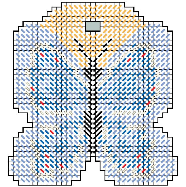 бабочка брелок вышивка пластиковая канва