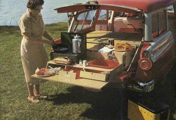 1. 60-е годы, автомобили, легковой автомобиль, старые машины, старые фото, сша, универсал, фургон