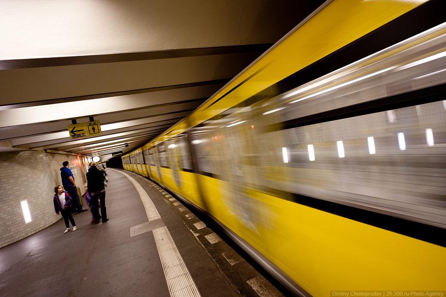 Berlin 20 Общественный транспорт Берлина
