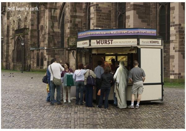 STALL, The Protestant Church (germany), Jung Von Matt Germany, Печатная реклама