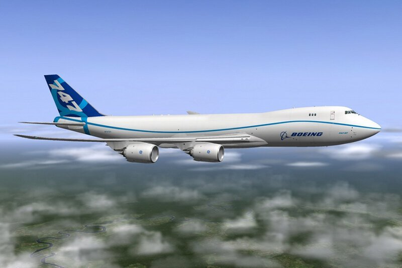 Boeing 747-8 Freighter боинг 747, история создания, технологии