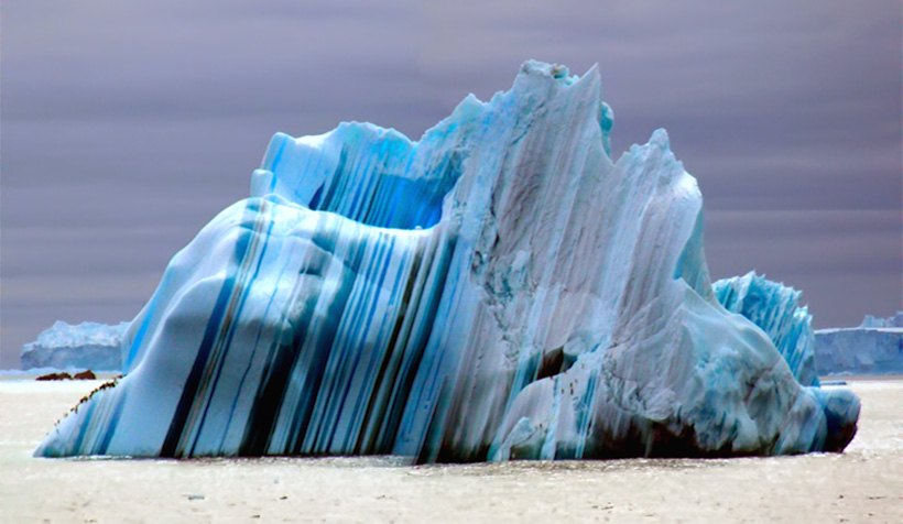 Полосатые айсберги