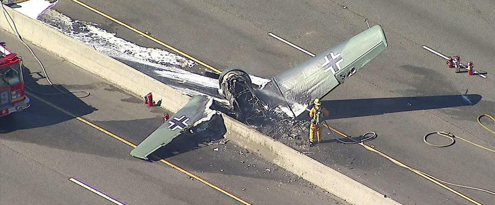 В США разбился самолёт «люфтваффе»