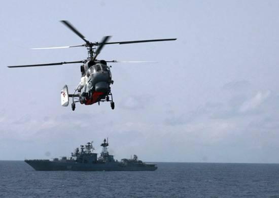 Тихоокеанский флот пополнился модернизированными Ка-29 и Ка-27М