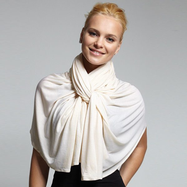 Как красиво повязать платок на шее