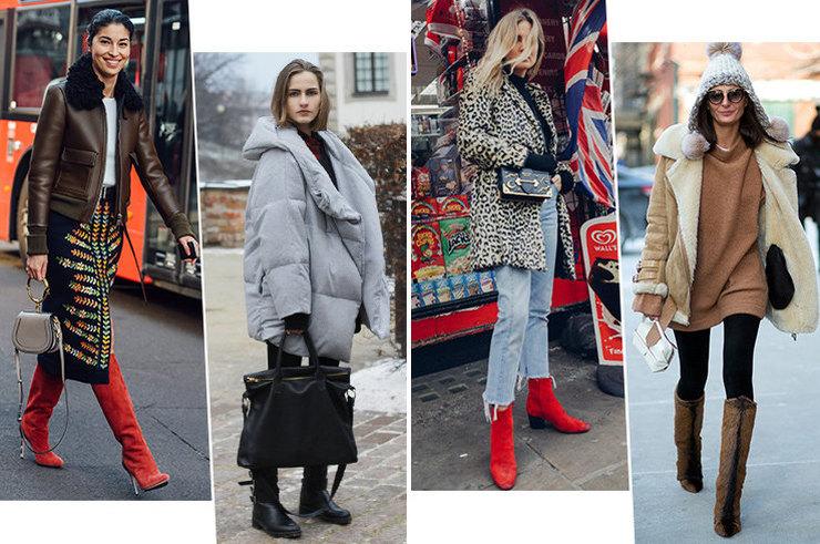 Топ-4 модных покупок на зиму и с чем их носить