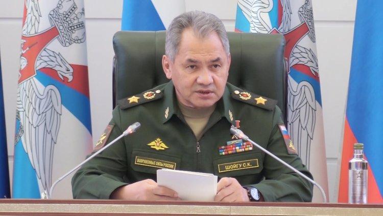 Сергей Шойгу призвал руководство армии РФ повышать квалификацию