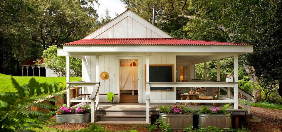 Дачный домик: 23 идеи для вдохновения