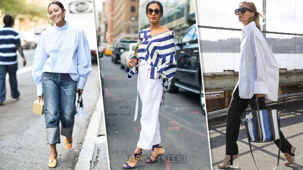 Берите на заметку: как носить самый эффектный тренд сезона — рубашку-oversize