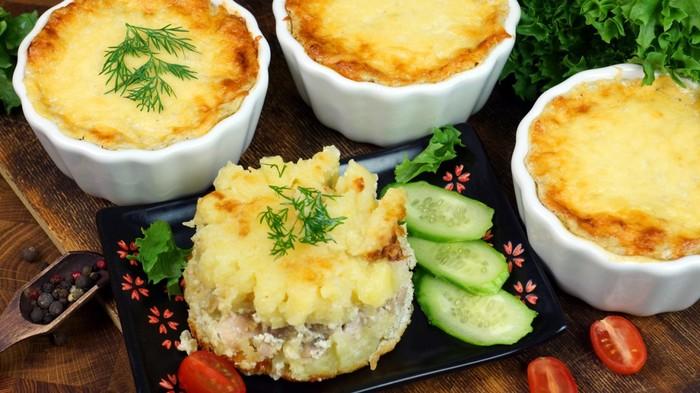 Куриное филе бедра с картофелем в соусе С дедом за обедом, Кулинария, Вкусно, Курица, Еда, Видео, Длиннопост