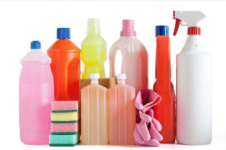 5. Пользоваться бытовой химией