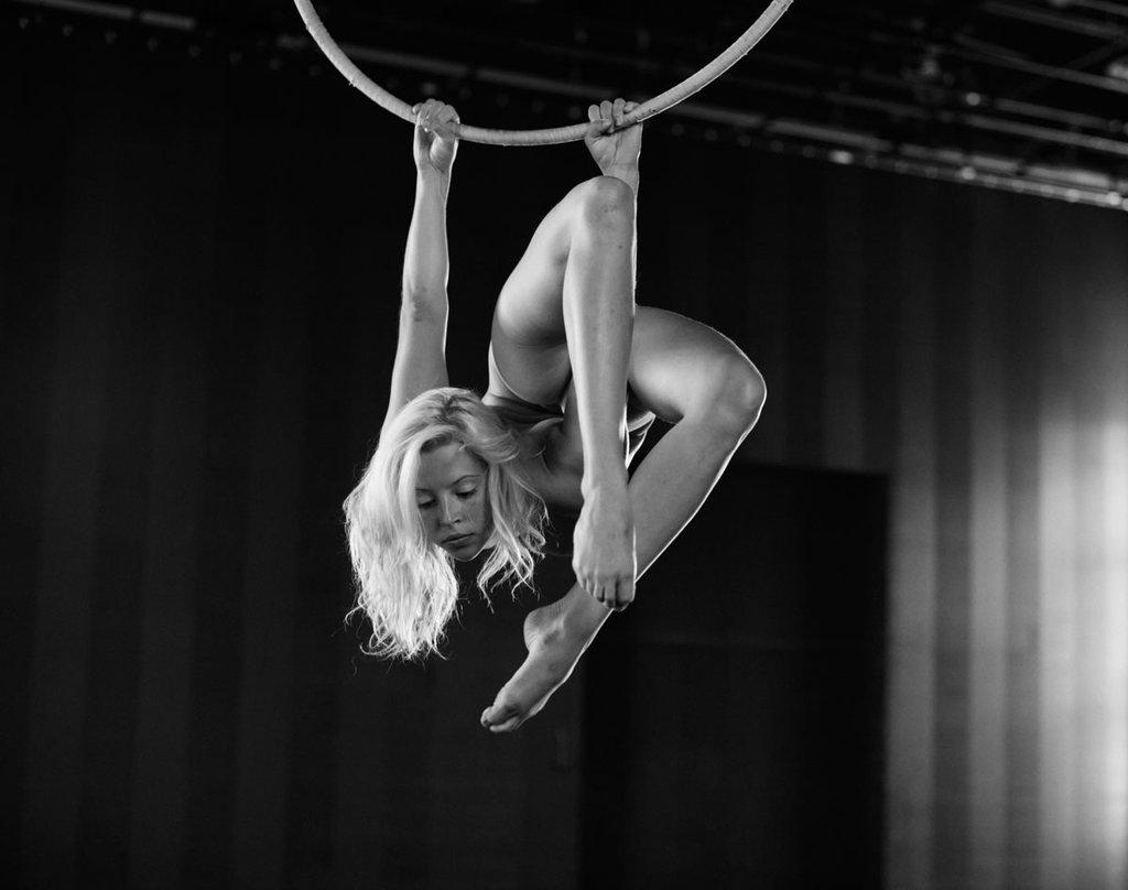 Цирковые артисты на фотографиях Бертиля Нильсона