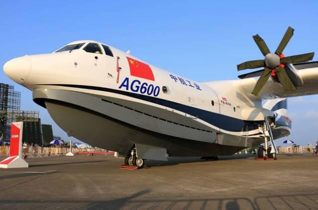 Крупнейший самолет-амфибия: …