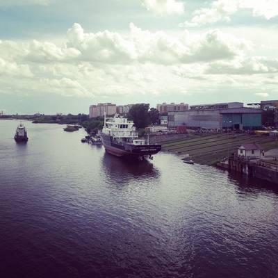 В Благовещенске спущено на воду гидрографическое судно «Александр Рогоцкий»