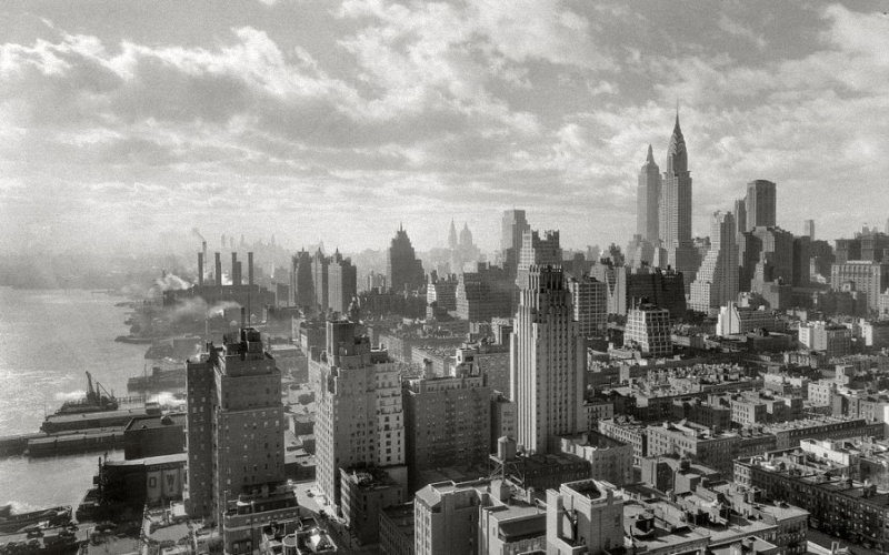 0027 Как строились небоскребы в Нью Йорке
