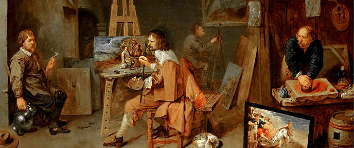 История изобразительного искусства. Живопись
