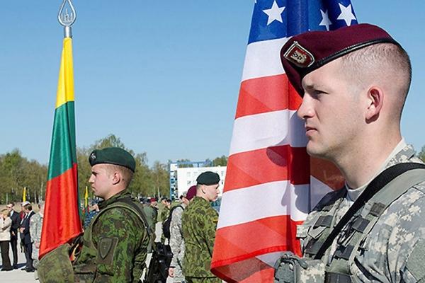 США превратили Литву в полигон