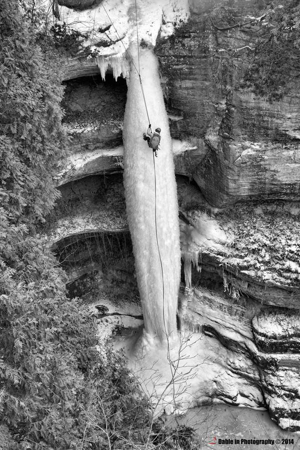 фото замороженных водопадов